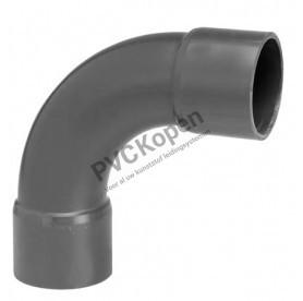 PVC Bocht 90°   75 x 75   PN 10 VDL