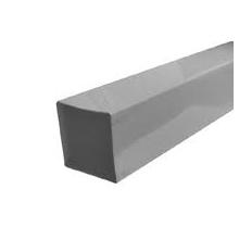HWA afvoerbuis grijs (vierkant) - PVCkopen.nl
