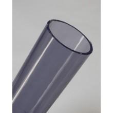 PVC drukbuis transparant 0.5 meter - Pvckopen.nl