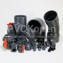 PVC drukleiding en hulpstukken