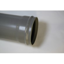PVC afvoerbuis SN8 Komo grijs manchet