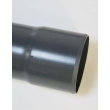 PVC drukbuis met lijmmof 7.5 bar