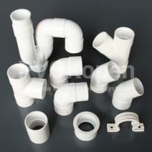 PVC hulpstukken lijm SN4 wit